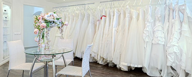 range of wedding dresses